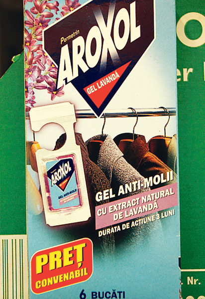 GEL ANTIMOLII 2/SET AROXOL
