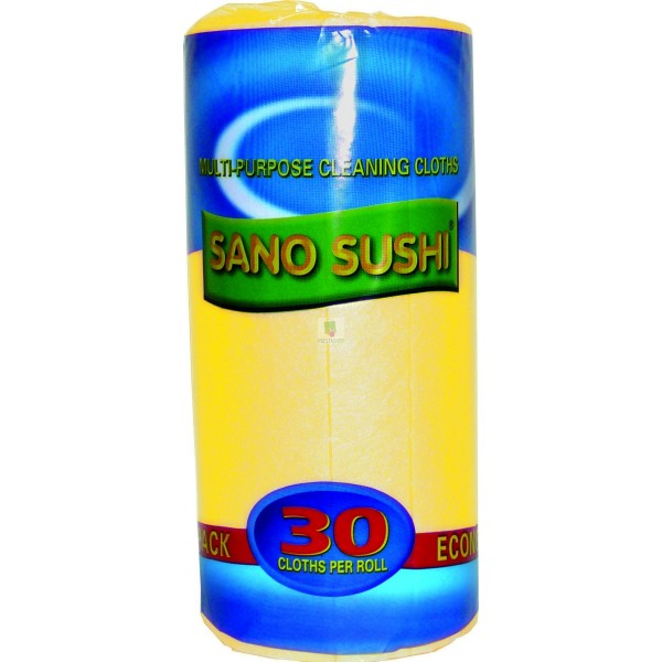 SANO SUSHI CLOTH YELLOW *30 BUC